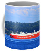 Wallenius Wilhelmsen Logistics Tamerlane Ship Coffee Mug