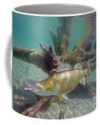 Walleye And Dardevle Coffee Mug