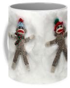 Wally And Petey Snow Angels Coffee Mug