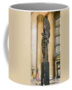 War Memorial At A Railroad Station Coffee Mug