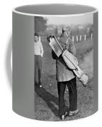 War Time On The Golf Course Coffee Mug