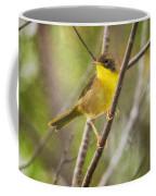 Warbler In Sunlight Coffee Mug