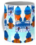 Warhol Firehydrants Coffee Mug