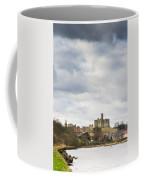 Warkworth Castle Above River Coquet Coffee Mug