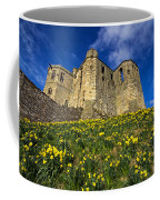 Warkworth Castle In Spring Coffee Mug