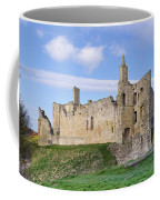 Warkworth Castle Panorama Coffee Mug