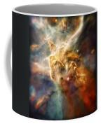 Warm Carina Nebula Pillar 3 Coffee Mug by Jennifer Rondinelli Reilly - Fine Art Photography