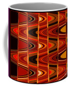 Warm Colors Lines And Swirls Abstract Coffee Mug