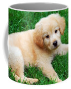 Warm Fuzzy Puppy Coffee Mug by Christina Rollo
