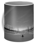 Warm Ice Bw Coffee Mug