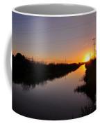 Warm Rural Sunset Coffee Mug