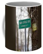 Warm Springs Mountain  Coffee Mug