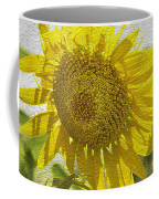 Warmth Upon My Back - Sunflower Coffee Mug