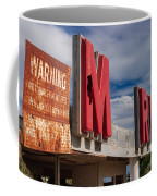 Warning M Rine Coffee Mug