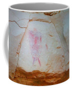 Warrior With Shield Pictogram Coffee Mug