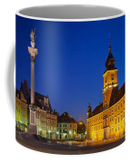 Warsaw By Night Coffee Mug