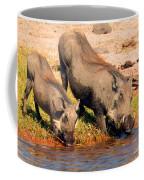 Warthog Family Coffee Mug