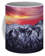 Wasatch Sunrise 3x1 Coffee Mug by Chad Dutson