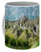 Washed Out Coffee Mug by Ayse Deniz
