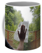 Washing A Window Coffee Mug