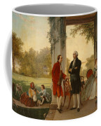 Washington And Lafayette At Mount Vernon Coffee Mug