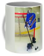 Washington Capitals Blue Away Hockey Jersey Coffee Mug