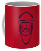 Washington Capitals Goalie Mask Coffee Mug