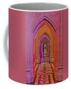 Washington Cathedral Light Show Coffee Mug