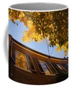 Washington D C Facades - Reflecting On Autumn In Georgetown  Coffee Mug