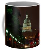 Washington Dc At Night Coffee Mug