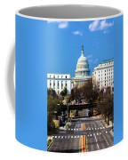 Washington D.c. - Elevated View Coffee Mug