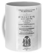Washington Funeral Coffee Mug