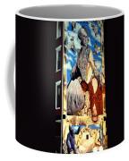 Washington In Drag Mural In Washinton Park Cincinnati Coffee Mug
