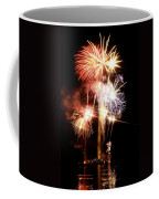 Washington Monument Fireworks 2 Coffee Mug by Stuart Litoff