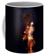 Washington Monument Fireworks 3 Coffee Mug by Stuart Litoff