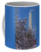 Washington Monument Coffee Mug by Susan Candelario