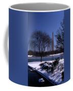Washington Monument Winter  Coffee Mug