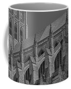 Washington National Cathedral  Bw Coffee Mug