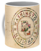 Washington Nationals Poster Vintage Coffee Mug