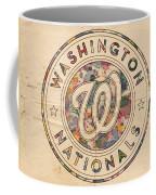 Washington Nationals Vintage Art Coffee Mug