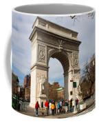 Washington Square Arch New York City Coffee Mug