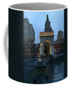 Washington Square In New York At Dusk Coffee Mug
