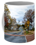 Washington's Crossing In The Fall Coffee Mug