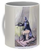 Washingtons Prayer, 1777 Coffee Mug