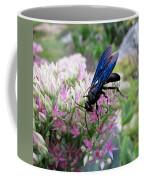 Wasp On Sedum Coffee Mug