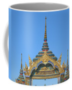 Wat Amarintaram Temple Gate Dthb1524 Coffee Mug