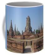 Wat Chaiwatthanaram From The East Dtha0187 Coffee Mug
