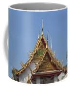 Wat Chumphon Nikayaram Phra Ubosot Gables Dtha0125 Coffee Mug