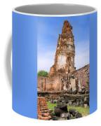 Wat Mahathat Temple In Ayutthaya Coffee Mug