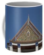 Wat Thewasunthon Preaching Hall Gable Dthb1423 Coffee Mug